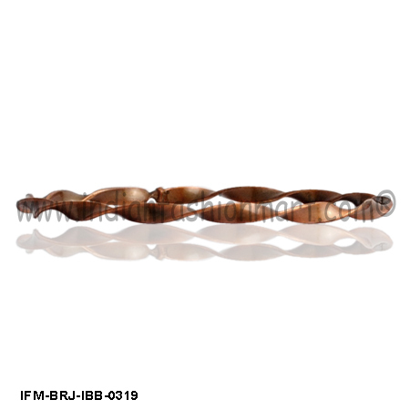 Slither Walk - Brass Bangle