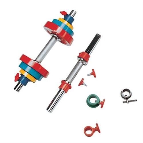 Adjustable Dumbbells - Turned Iron