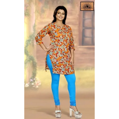 Cotton Stretchable Ankle Leggings