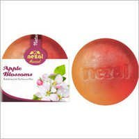 Apple Blossom Herbal Round Soap