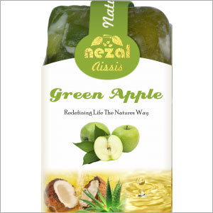 Herbal Handmade Green Apple Aissis Soap