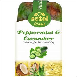 Peppermint & Cucumber Handmade Bathing Soap