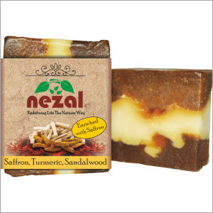 Saffron, Sandalwood & Turmeric Powder Soap