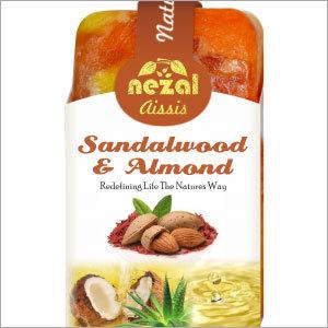 Sandalwood & Almond Herbal Soap