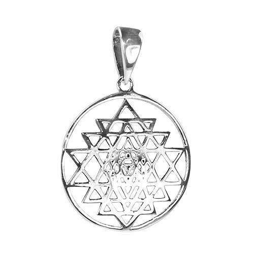 Plain Silver Pendant