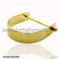 Eudemonia Always  - Brass Bangle