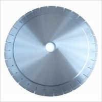 Horizontal cutting saw blade