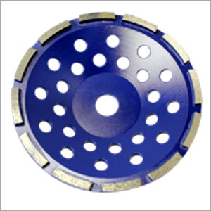 Single Row Diamond Grinding Cup Wheel