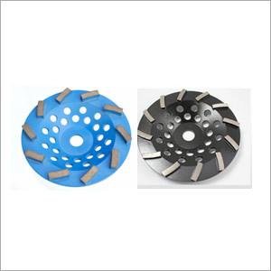Diamond Swirling Turbo Cup Wheel