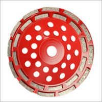 Diamond Double Row Cup Wheel