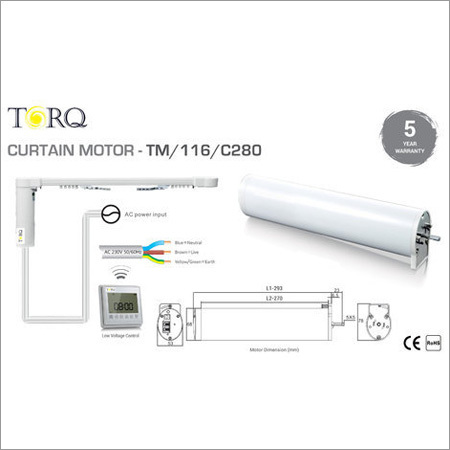 Remote Controller Curtain Motor