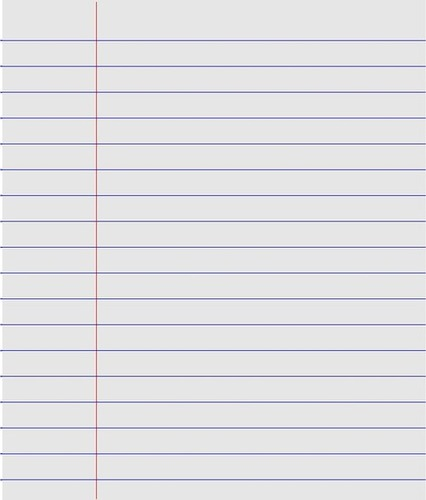 Hindi Ruled Paper