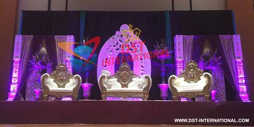 Wedding Maharaja Furniture Stage