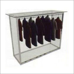 Steel Cloth Rack Display Counter