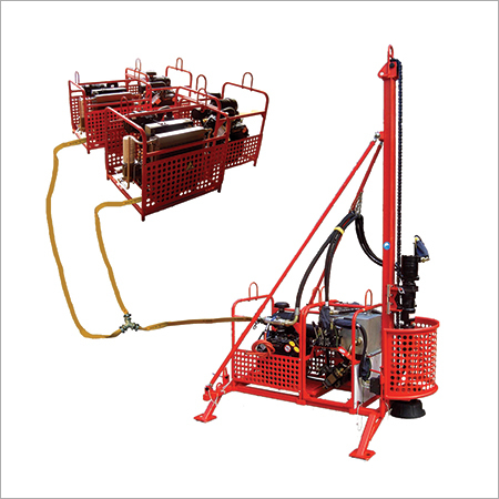 HD 80 Man Portable Drilling Rig