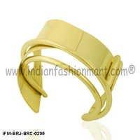 Temptress Moderna - Brass Wrist cuff