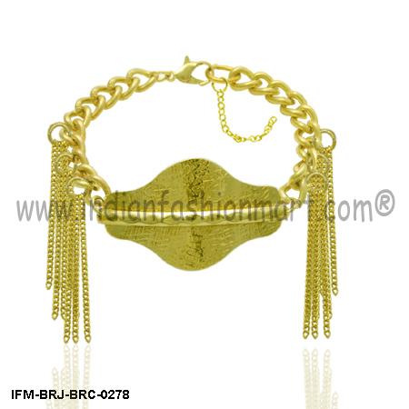 Prodigal Swanky  - Brass Bracelet