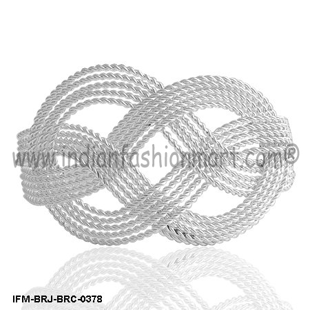 Eight - Brass Wire Cuff