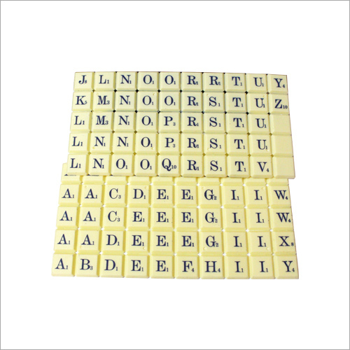 Cross Word Game Coins