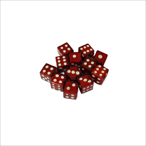 Red Ludo Dice