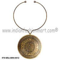 Zingara Prime - Brass Necklace