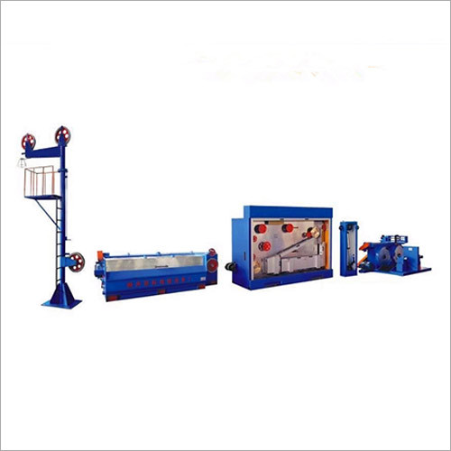 Copper Rod Breakdown Machine with Annealer