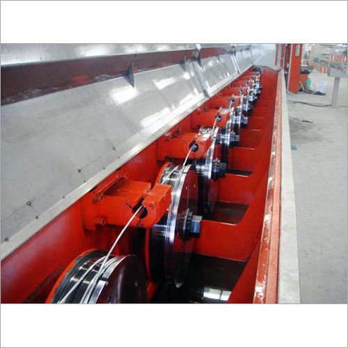 Aluminium Rod Breakdown Machine