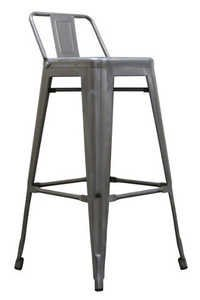 French Bistro Highback Bar Chair