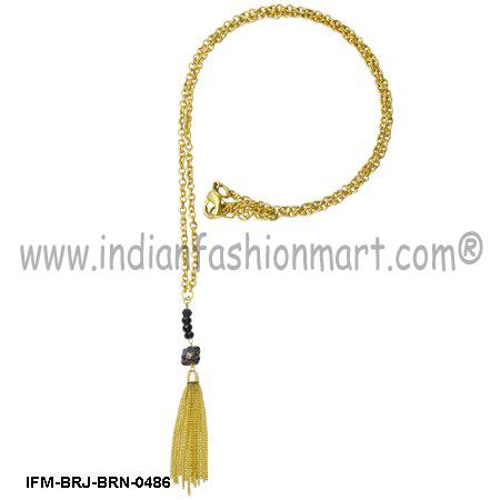 lodestone Felicitous - Brass Necklace