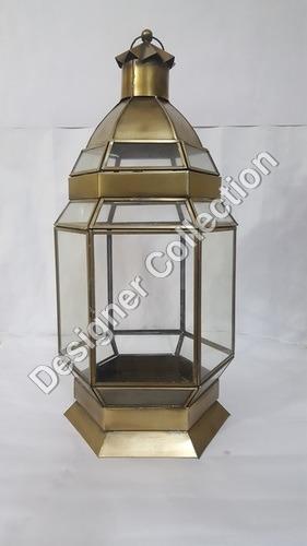 Copper Hanging Lantern