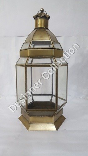 Copper Hanging Lantern