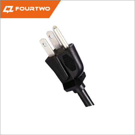 NEMA 5-15P 3 pin plug UL CUL power leads