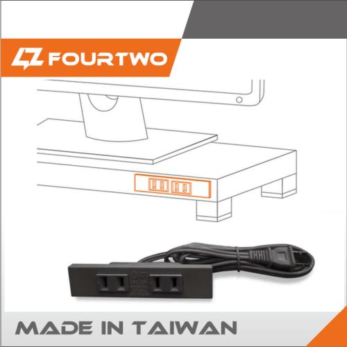2 Pin Pse / Bsmi 1.8m Extension Cords Sockets