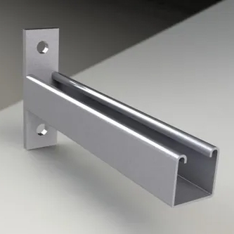 Slotted Channel With Cantilever Arms