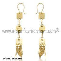 Yea-sayer Swagger  - Brass Earrings