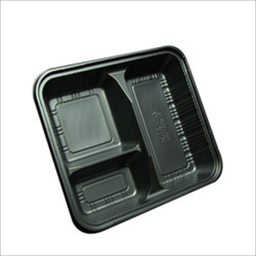 Fancy Black Punnet Tray