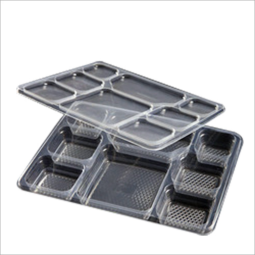 Meal Tray With Eight Compartment