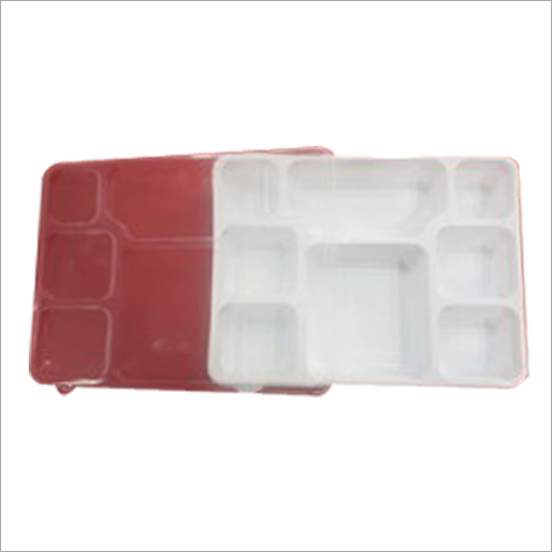 White Meal Disposable Tray