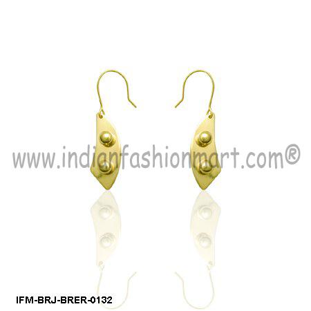 Noble Luciditas - Brass Earrings