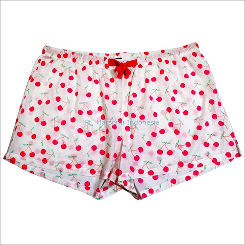Ladies Cotton Boxer Shorts