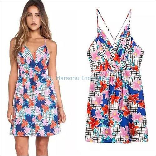 Printed Batik Dress