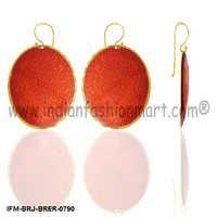 Swain  Starlet - Brass Earrings