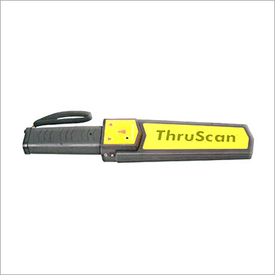 Thru Scan Hand Held Metal Detector