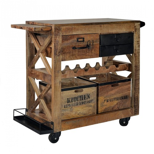 Industrial Bar cum Tea Trolley