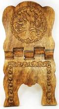 Wooden Book Holder