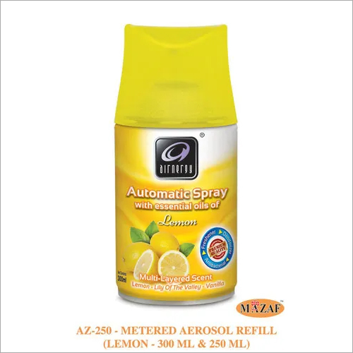 Metered Aerosol Air Freshener Refill LEMON