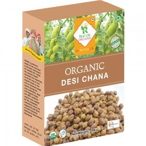 Organic Black ChickPea(Desi Chana)