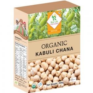 Organic White ChickPea(Kabuali Chana)