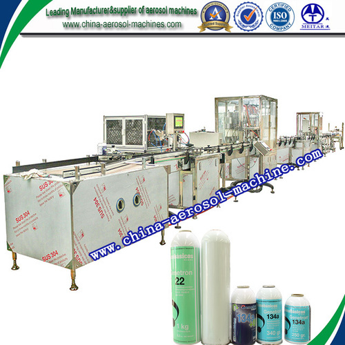Refrigerant Filling Machine without PLC Control