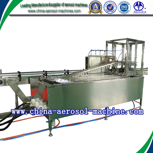 Aerosol Can Leak Testing Machine